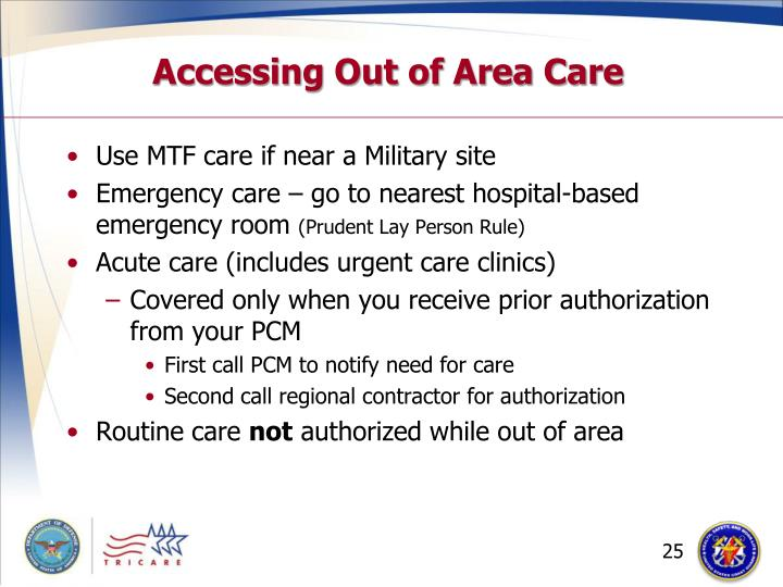 Accessing Out of Area Care