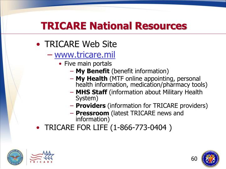 TRICARE National Resources