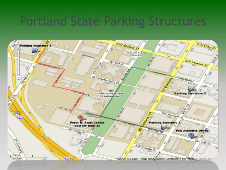 Portland State Parking Structures