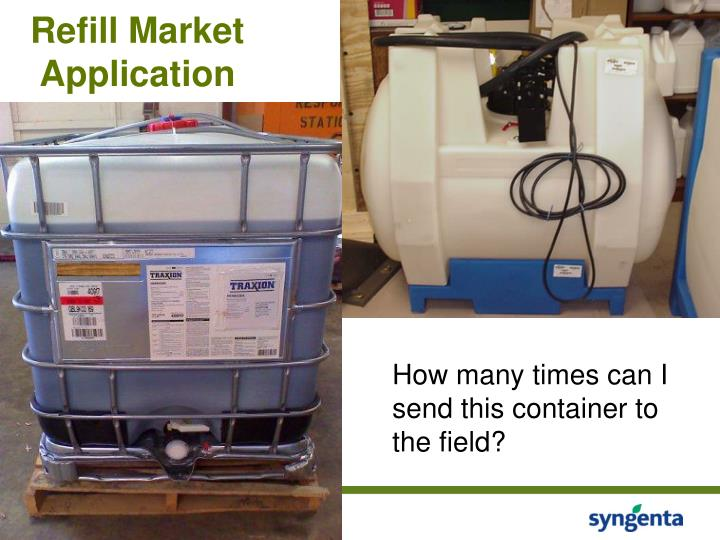 Refill Market Application