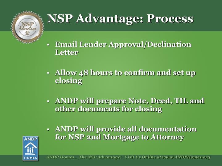 Email Lender Approval/Declination Letter