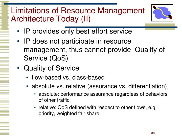 Limitations of Resource Management Architecture Today (II)