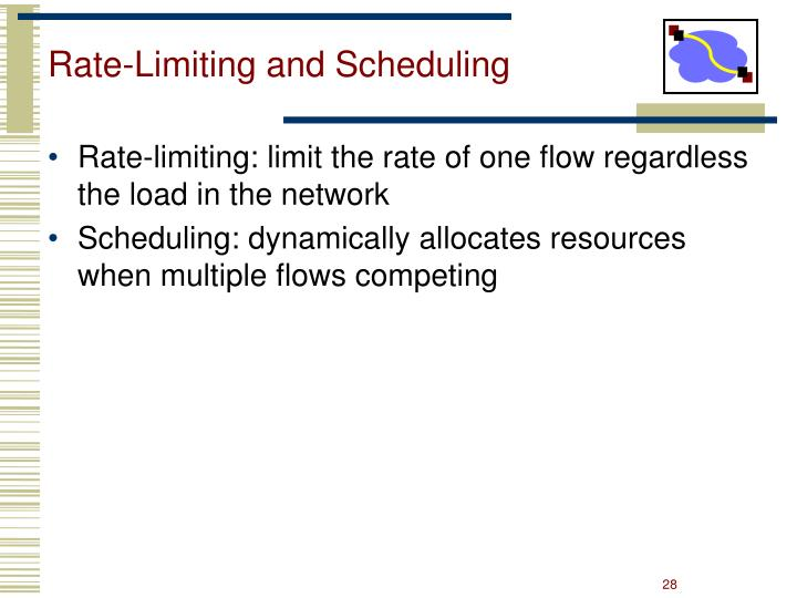 Rate-Limiting and Scheduling