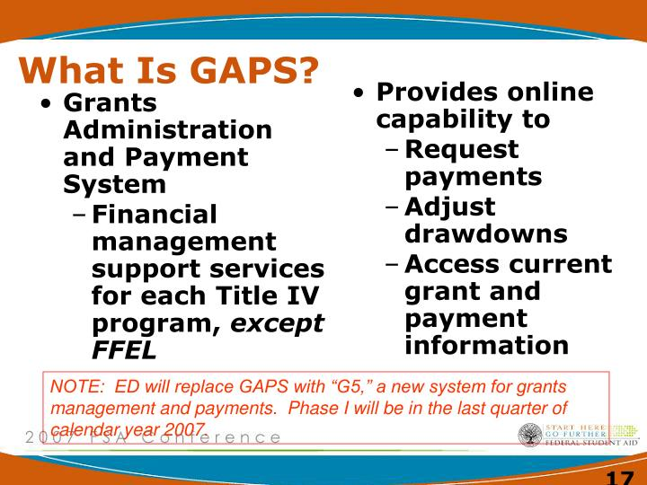 Grants Administration and Payment System