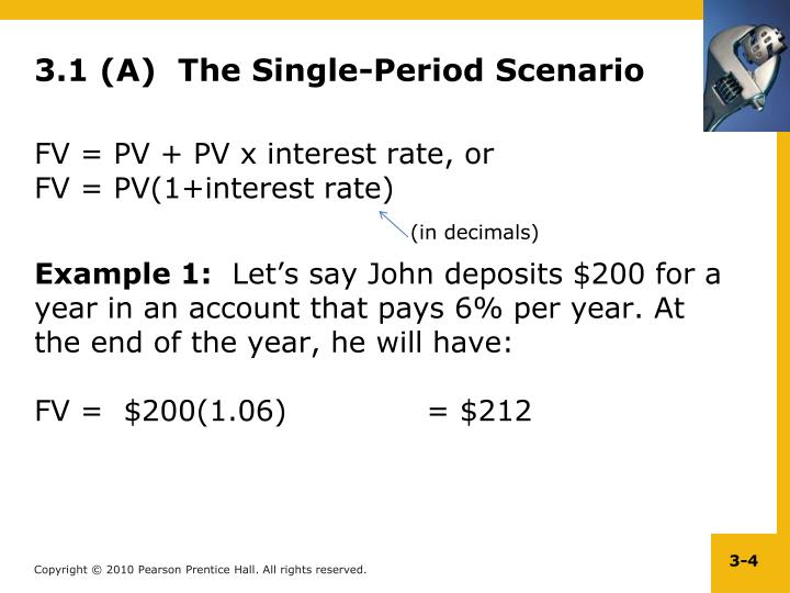 3.1 (A)  The Single-Period Scenario