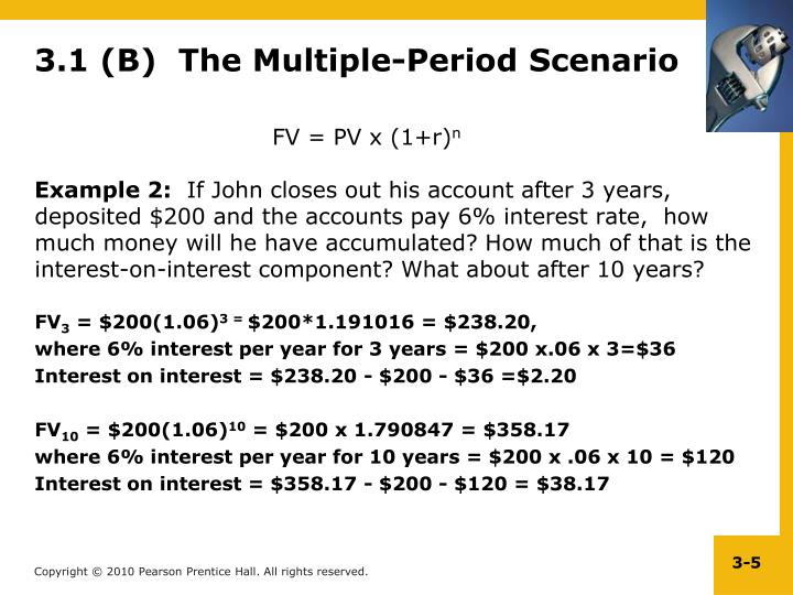 3.1 (B)  The Multiple-Period Scenario