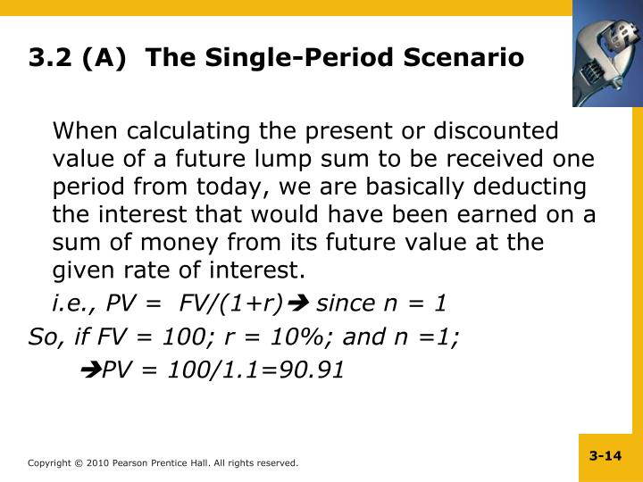 3.2 (A)  The Single-Period Scenario