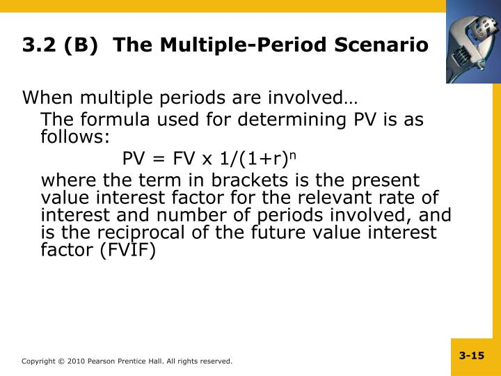 3.2 (B)  The Multiple-Period Scenario