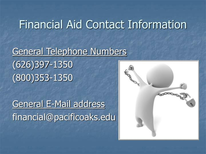 Financial Aid Contact Information