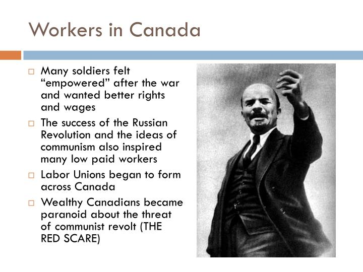 Workers in Canada