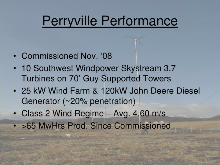 Perryville Performance