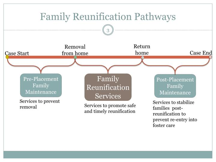 Family reunification pathways