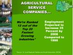 agricultural service companies