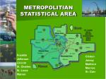 metropolitian statistical area