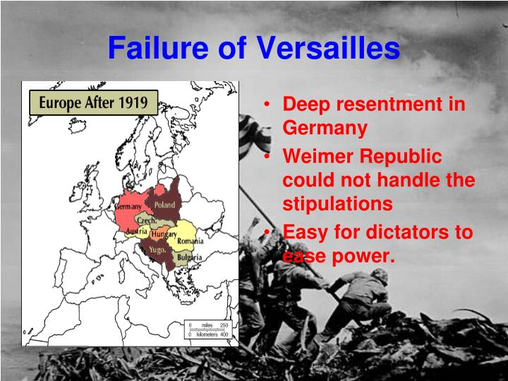 Failure of versailles
