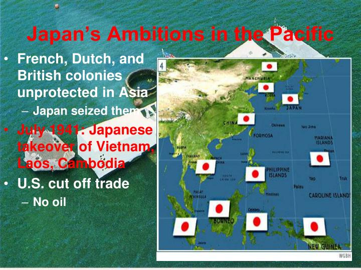 Japan's Ambitions in the Pacific