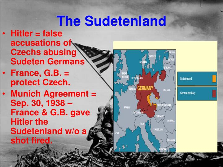 The Sudetenland