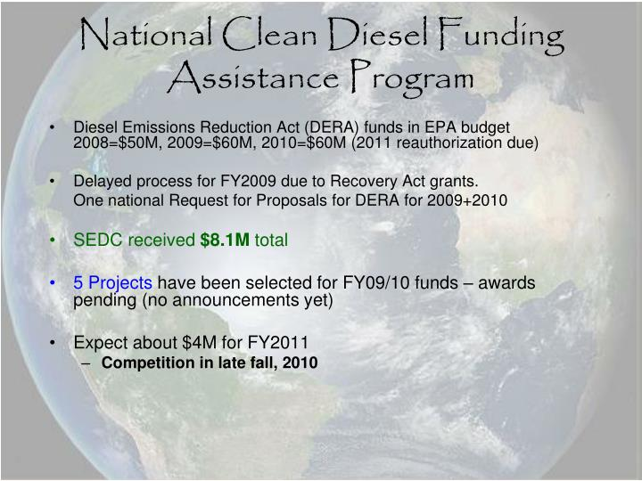 National Clean Diesel Funding Assistance Program