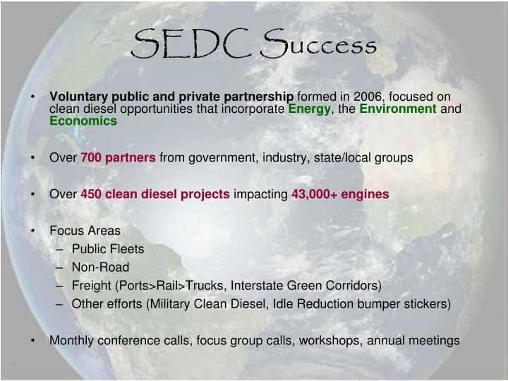 SEDC Success
