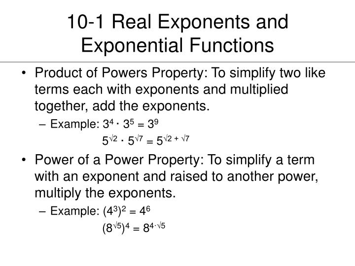 10 1 real exponents and exponential functions1