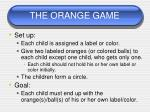 the orange game3
