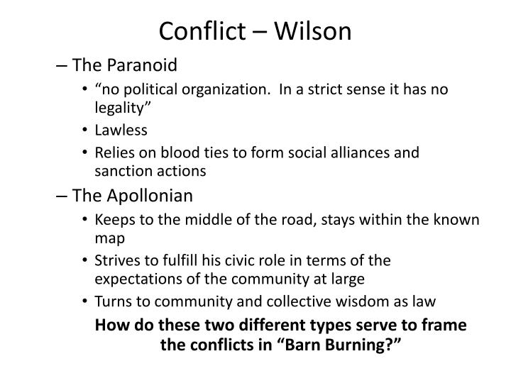 a sense of nearness to the characters in barn burning by william faulkner Transcript of barn burning by william faulkner: short story presentation barn burning william faulkner topics & themes characterization setting and literary devices connections to joseph campbell hero's journey conclusion 1) the character sartoris is just.