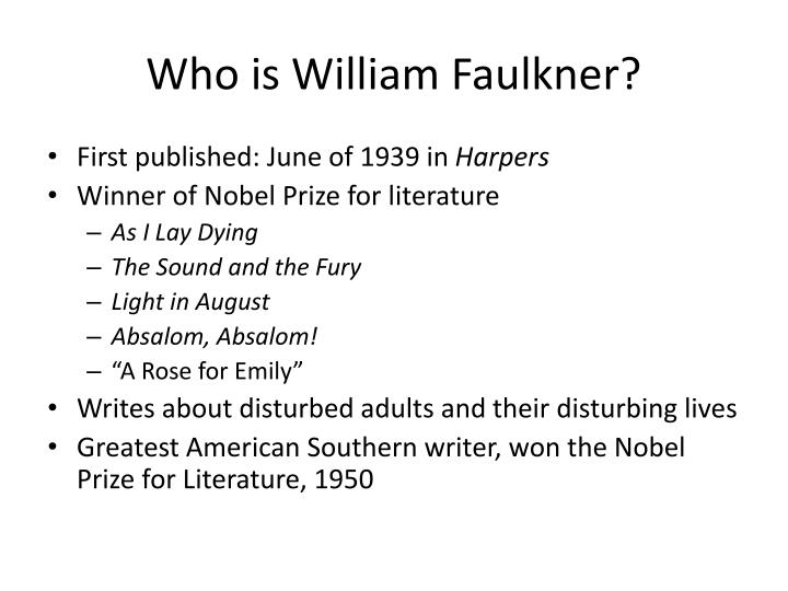barn burning character development essay faulkner five william Contains a biography of william faulkner, literature essays of burning down his barn of-william-faulkner/study-guide/summary-barn-burning in.