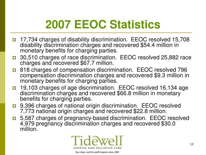 2007 EEOC Statistics