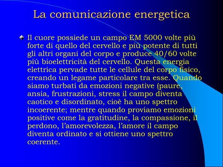 La comunicazione energetica