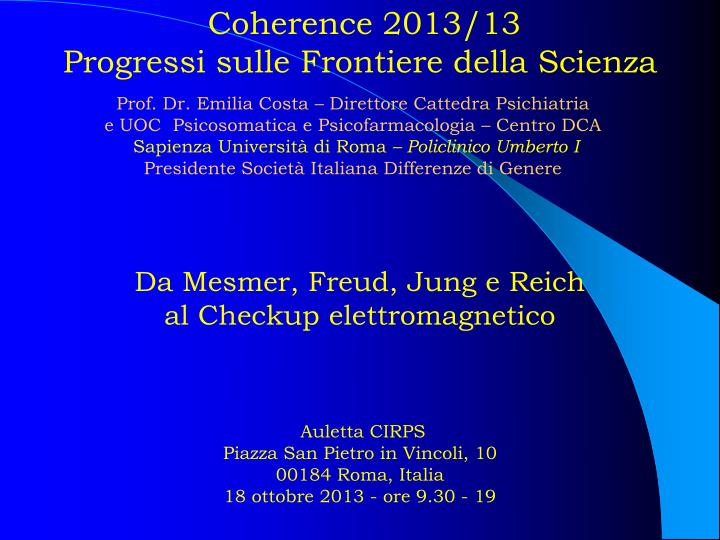 Coherence 2013/13