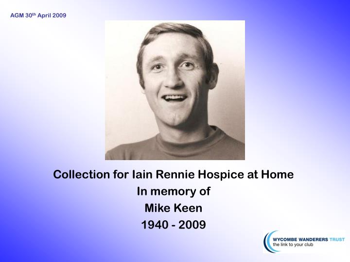 Collection for Iain Rennie Hospice at Home