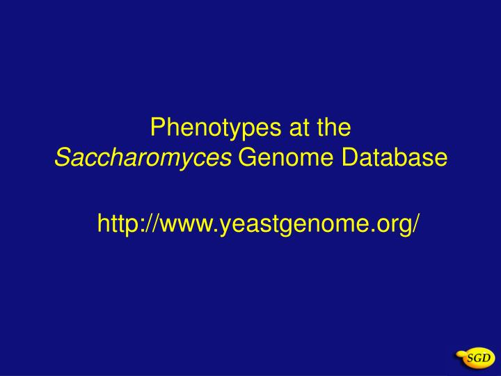 ensembl genome database project