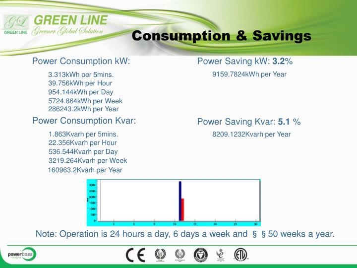Consumption & Savings