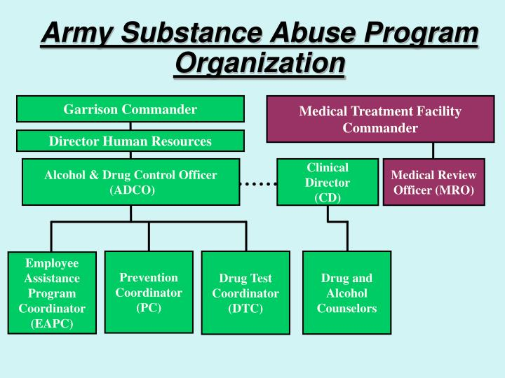 a discussion of the alcohol and drug abuse prevention and control program E ective substance abuse prevention: to the office of national drug control policy (ondcp), prevention strategies in an evidence-based prevention program can.