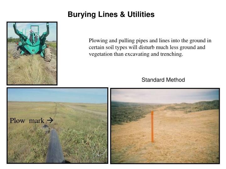 Burying Lines & Utilities