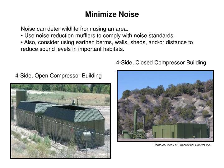 Minimize Noise