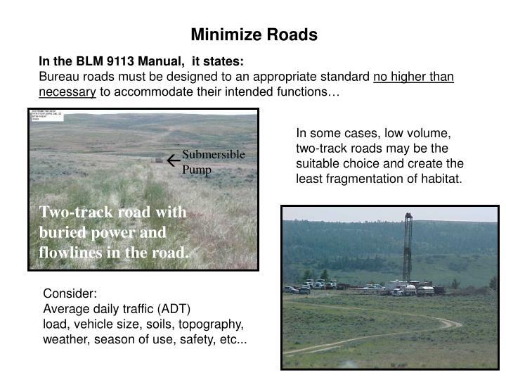Minimize Roads