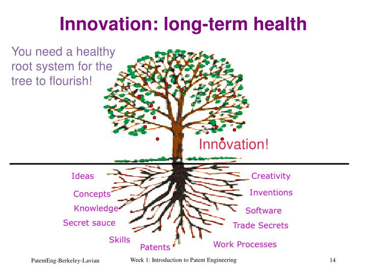 Innovation: long-term health