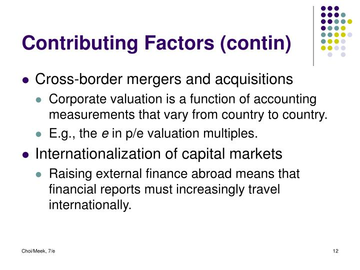 measuring international accounting harmonization International accounting harmonization remains a desirable but other   comparability of financial statements to users, then any measure of.