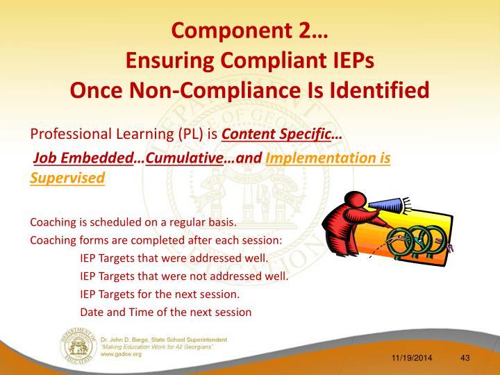 Component 2…