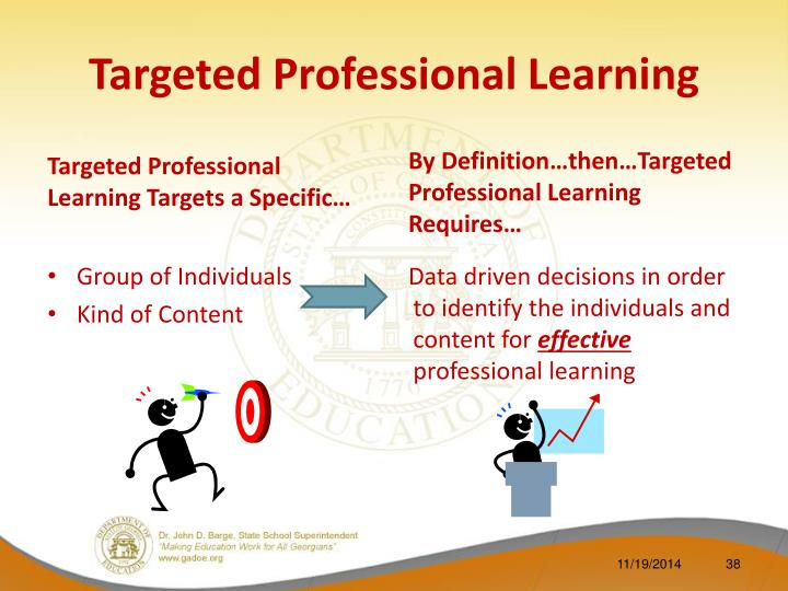 Targeted Professional Learning