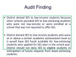 audit finding3