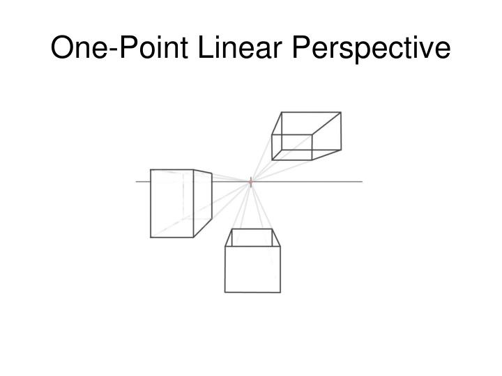 One-Point Linear Perspective