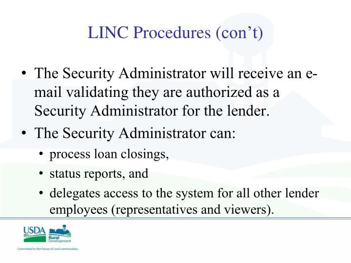 LINC Procedures (