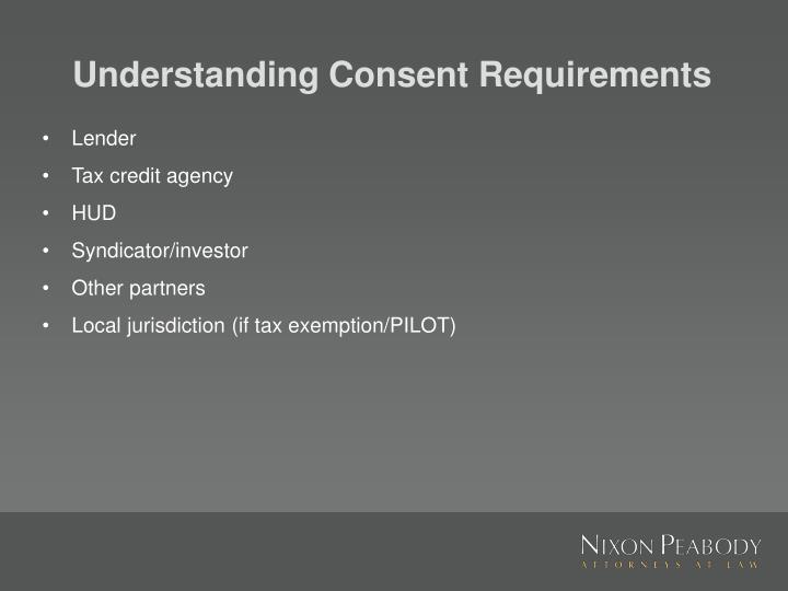 Understanding Consent Requirements