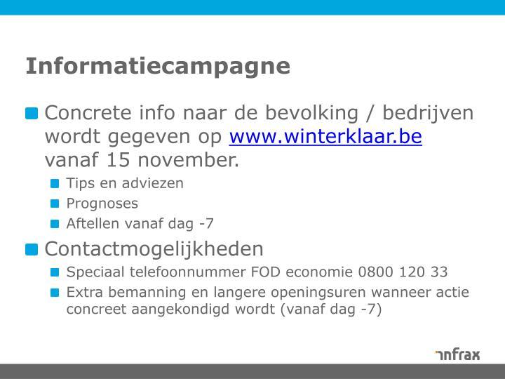 Informatiecampagne