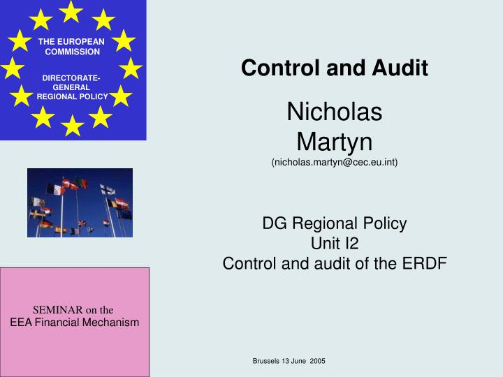 Control and Audit