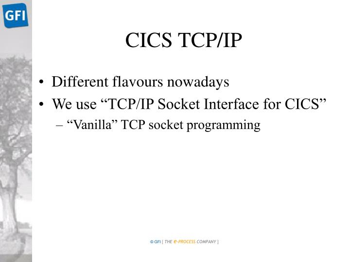 CICS TCP/IP