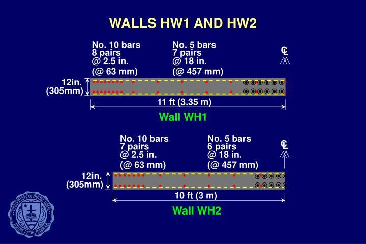 WALLS HW1 AND HW2
