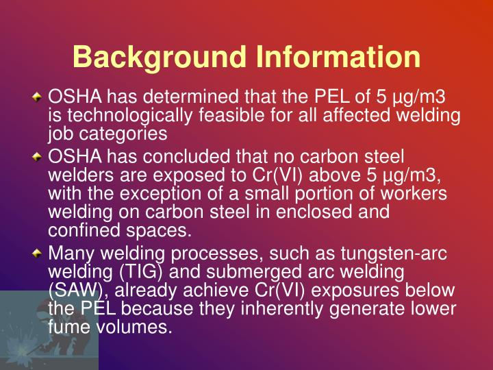 Background information1